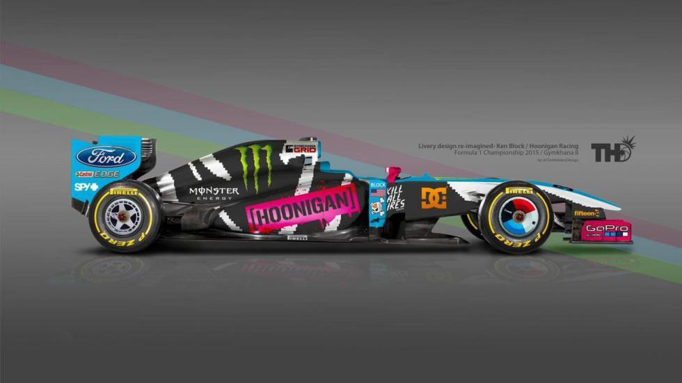 Los diseños de los F1 del futuro - Hoonigan