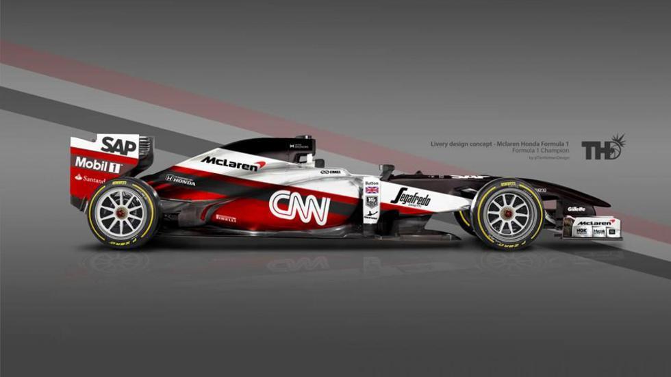 Los diseños de los F1 del futuro - McLaren