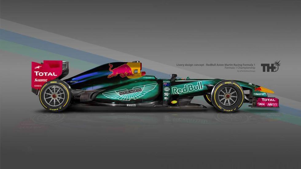 Los diseños de los F1 del futuro - Red Bull Aston Martin