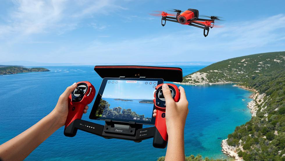 Dron con cámara incorporada