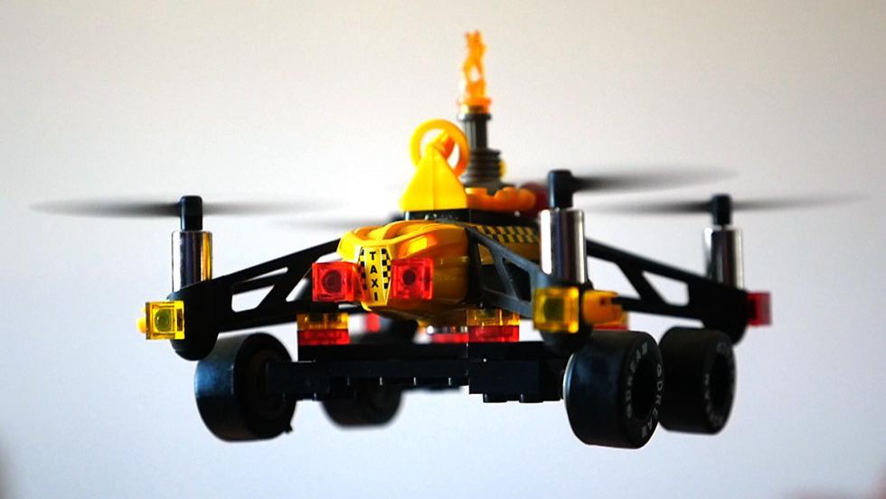 Dron de interiores