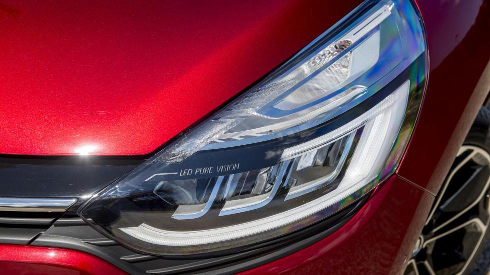 El faro del Renault Clio 2016 puede tener leds