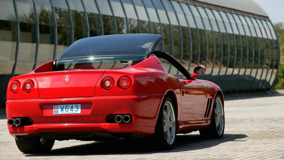 Ferrari 575 Superamerica techo descapotable