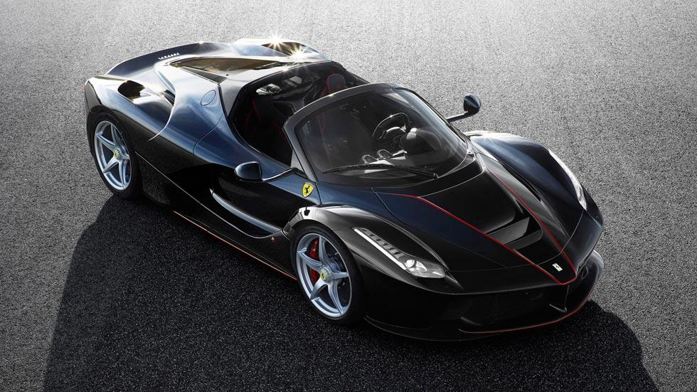 Ferrari LaFerrari Aperta cenital techo descapotable