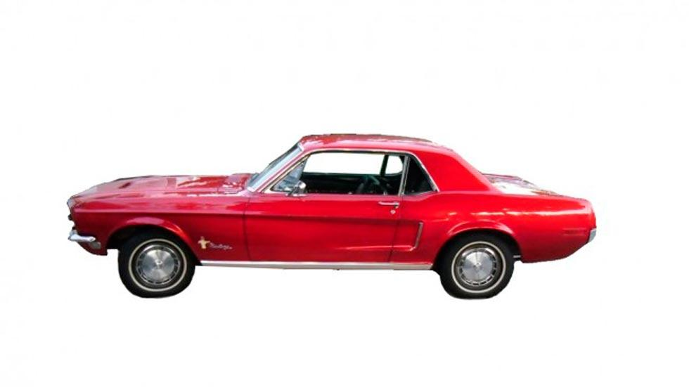 Ford Mustang Ringo Starr lateral