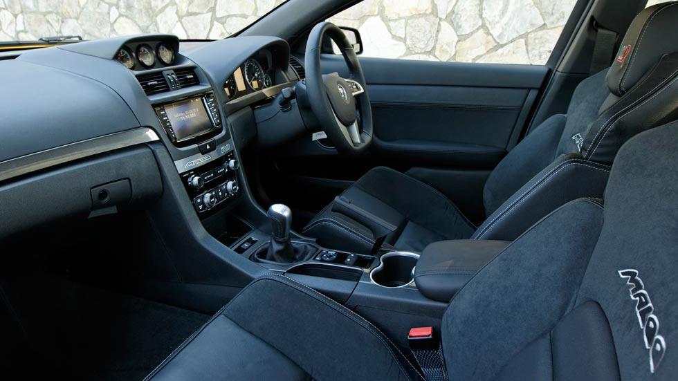 Holden Maloo interior