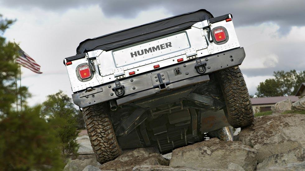 Hummer H1 trasera offroad 4x4