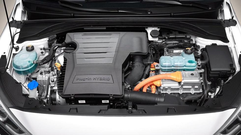 Hyundai Ioniq: motor híbrido enchufable