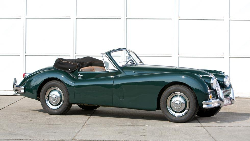 Jaguar XK140 verde harrison ford