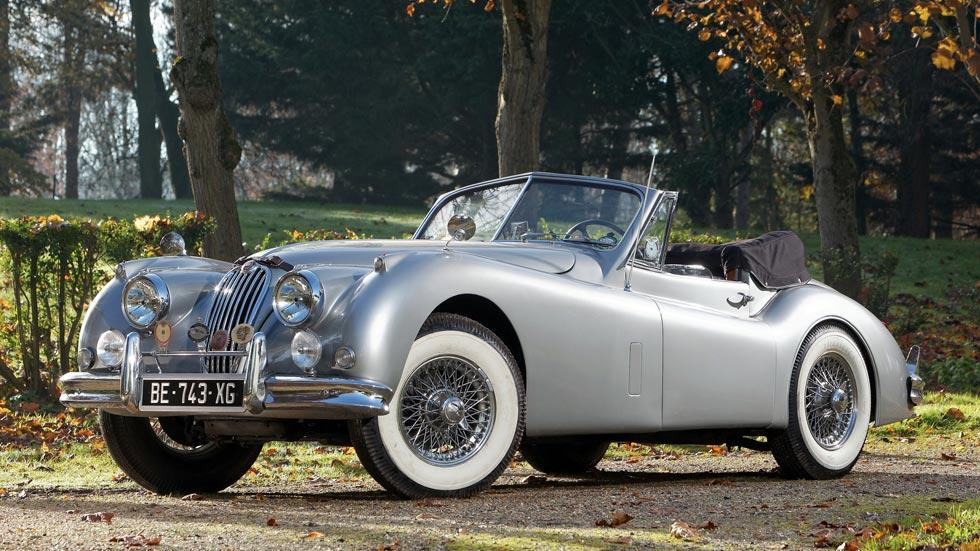 Jaguar XK140 harrison ford