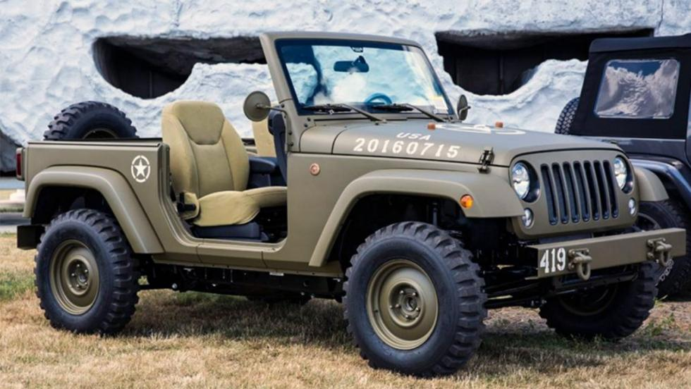 Jeep Wrangler 75th Salute Concept