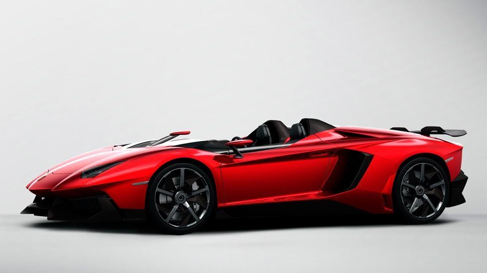 Lamborghini Aventador J lateral one off one-off