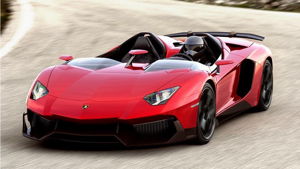 Lamborghini Aventador J superdeportivo one off