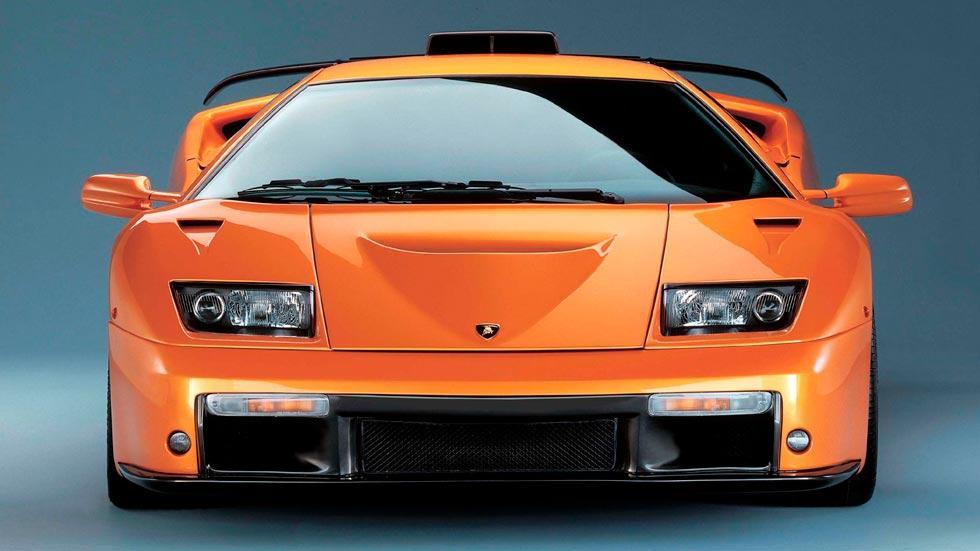 Lamborghini Diablo GT frontal limitado superdeportivo