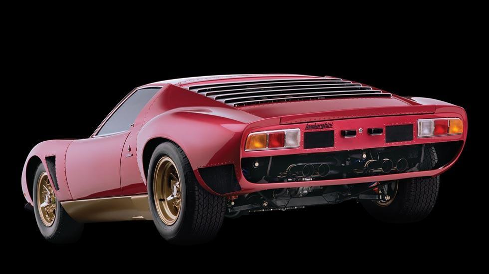 Lamborghini Miura SV/J trasera