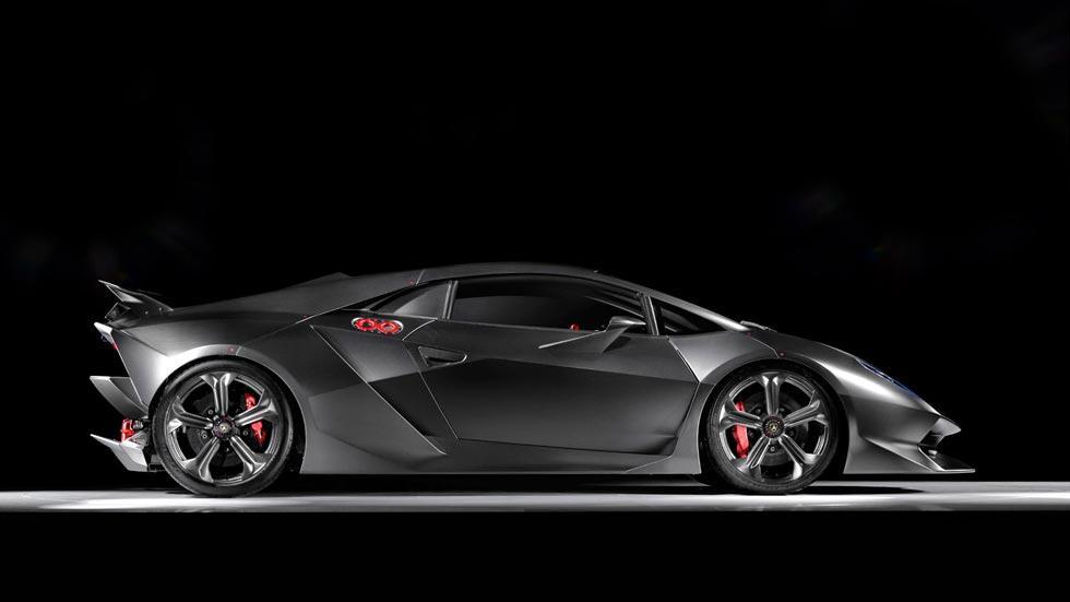 Lamborghini Sesto Elemento lateral superdeportivo