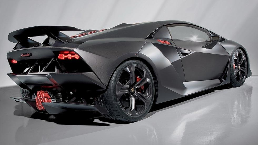 Lamborghini Sesto Elemento trasera