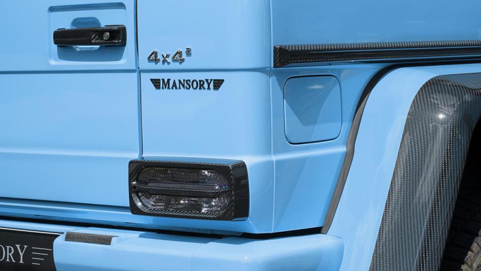 Mansory G500 4x4 al cuadrado