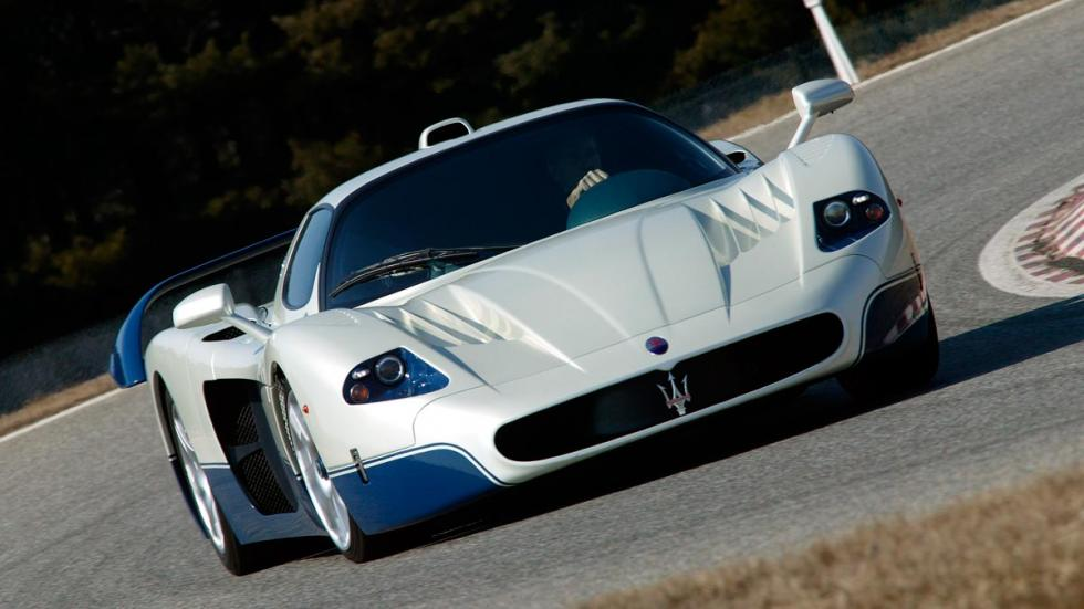 Maserati MC12 frontal hyperdeportivo superdeportivo descapotable