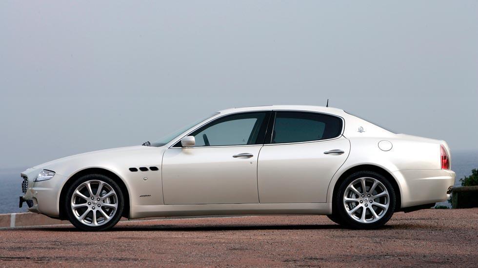 Maserati Quattroporte lateral lujo berlina