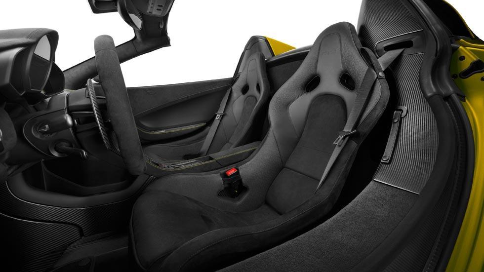 McLaren 675LT Spider asientos lujo deportivo