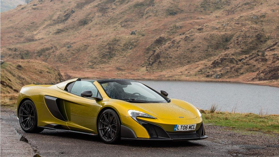 McLaren 675LT Spider descapotable deportivo radical