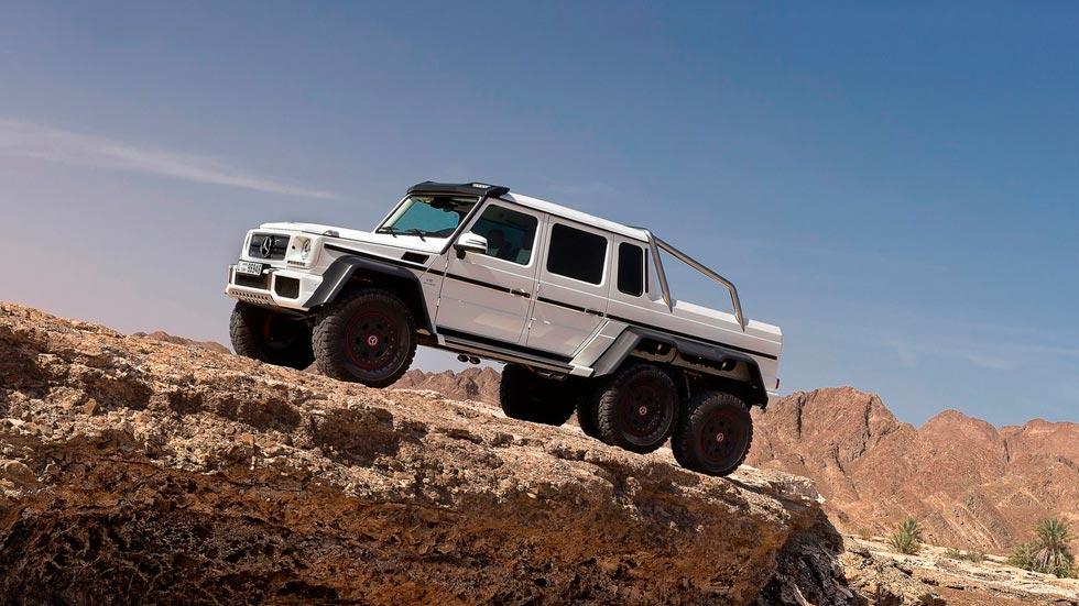 Mercedes Clase G 6x6 lateral suv