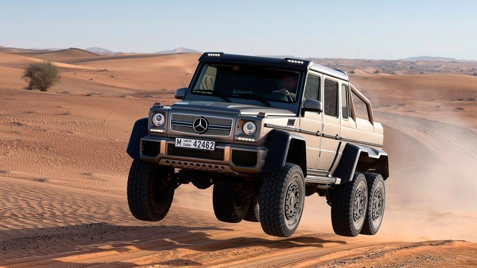 Mercedes Clase G 6x6 salto