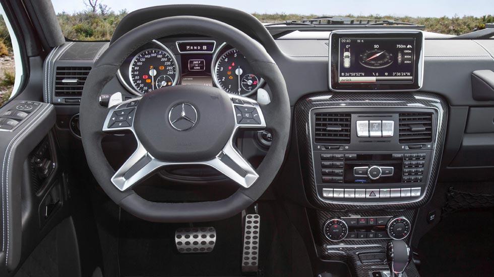 Mercedes G 500 4x4 interior