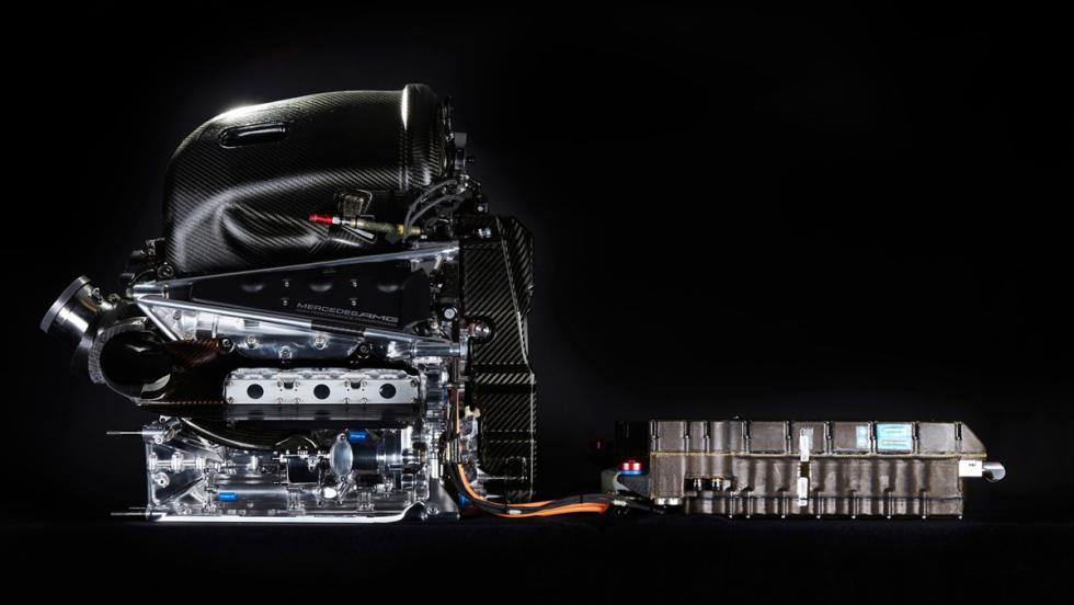 Mercedes motor F1