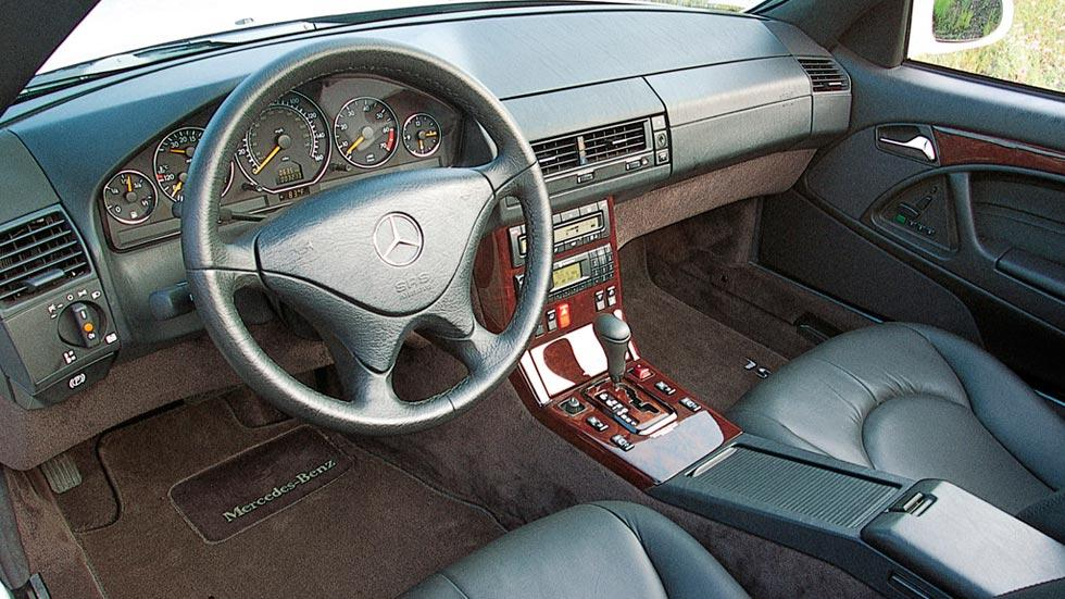 Mercedes SL 500 interior harrison