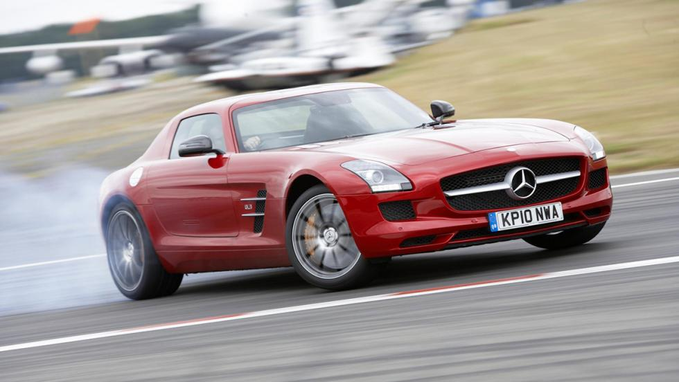 Mercedes SLS AMG - 7 minutos y 40 segundos