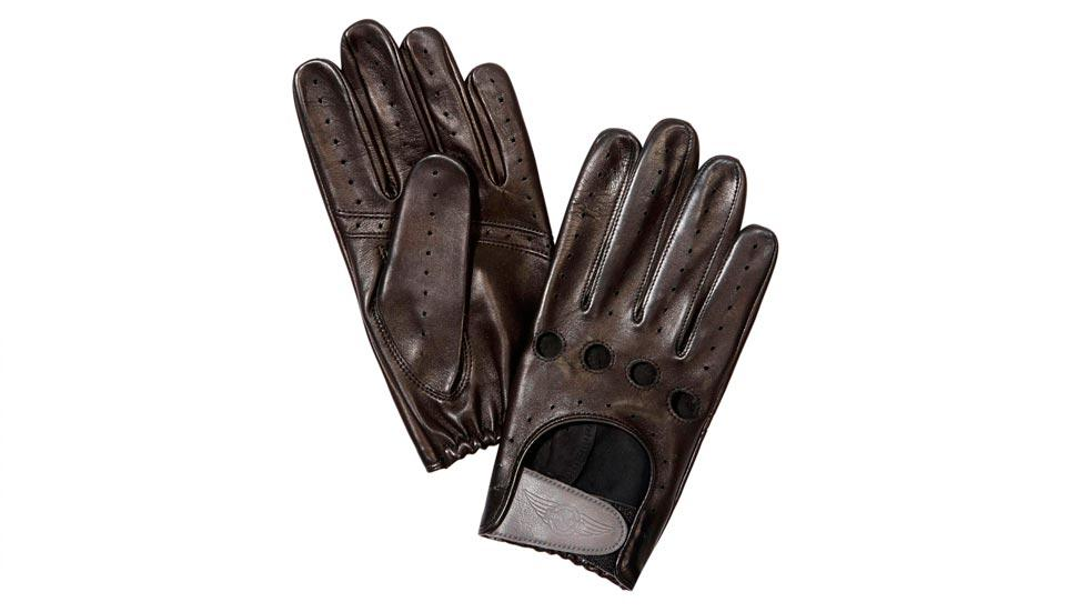 Morgan EV3 Selfridges guantes retro conducir