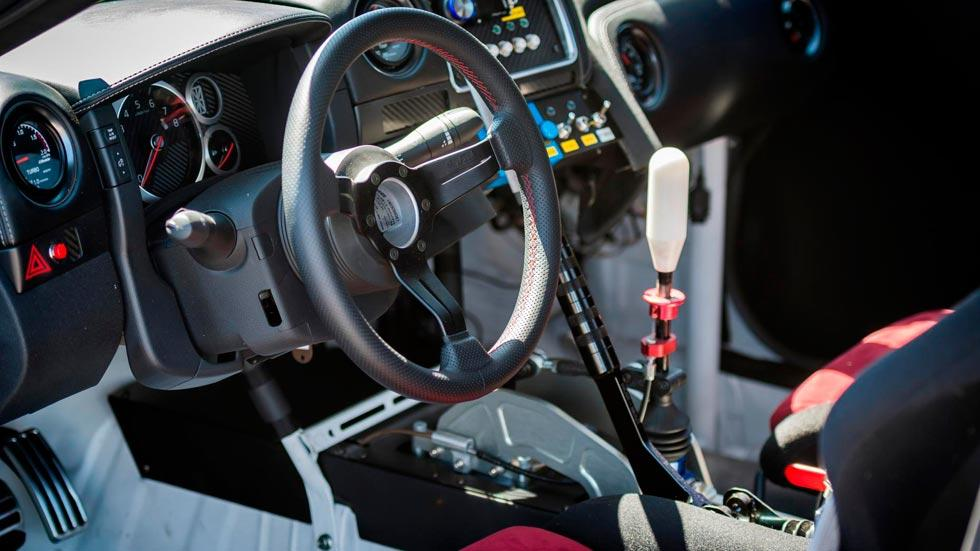Nissan GT-R Drift record interior