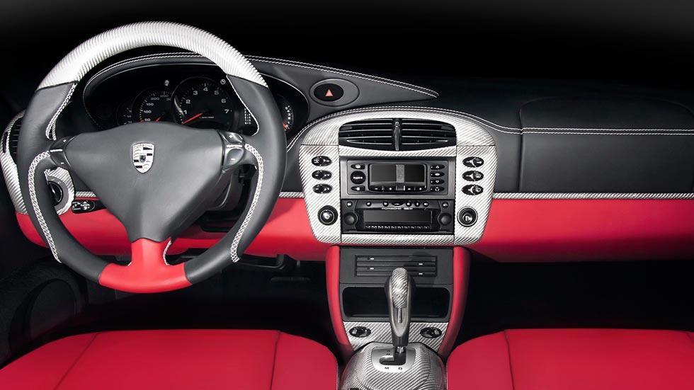 Porsche 911 Status Design interior lujo