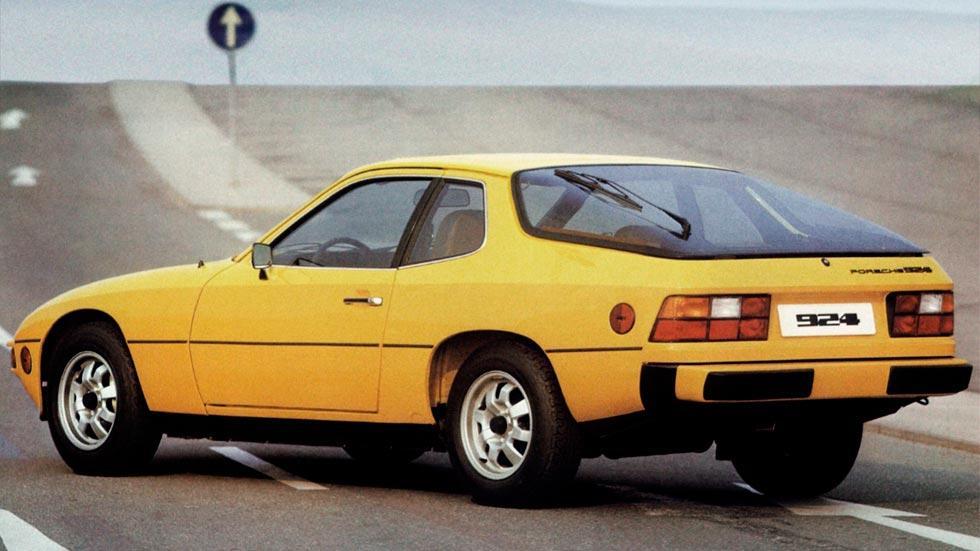 Porsche 924 trasera us spec