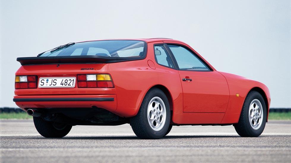 Porsche 944 trasera deportivo