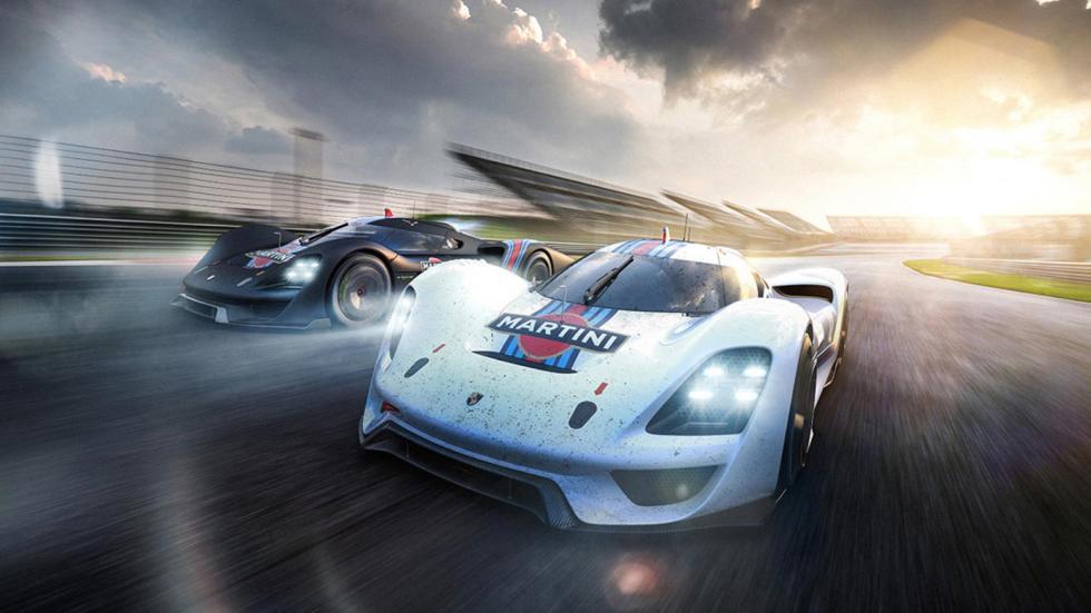 Porsche Le Mans, render (IX)