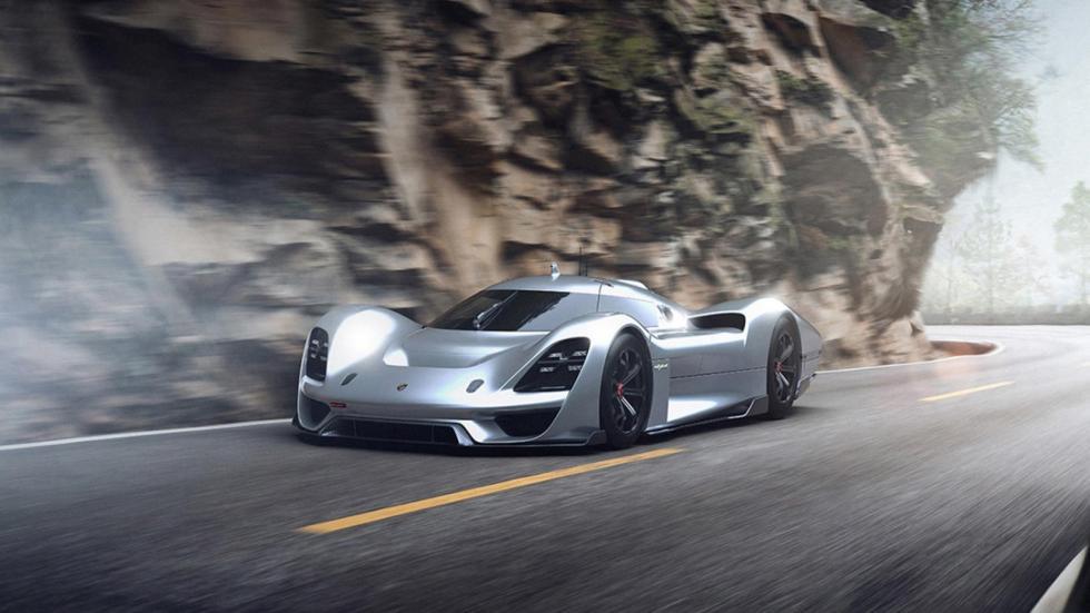 Porsche Le Mans, render (VIII)