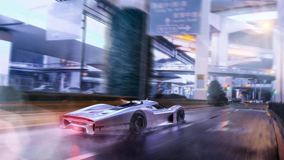 Porsche Le Mans, render (X)