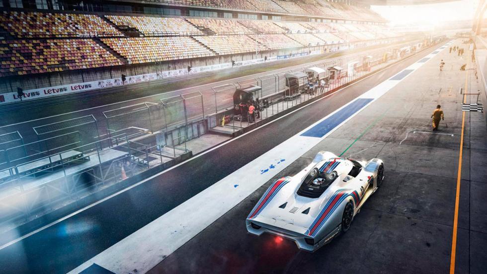 Porsche Le Mans, render (XIII)