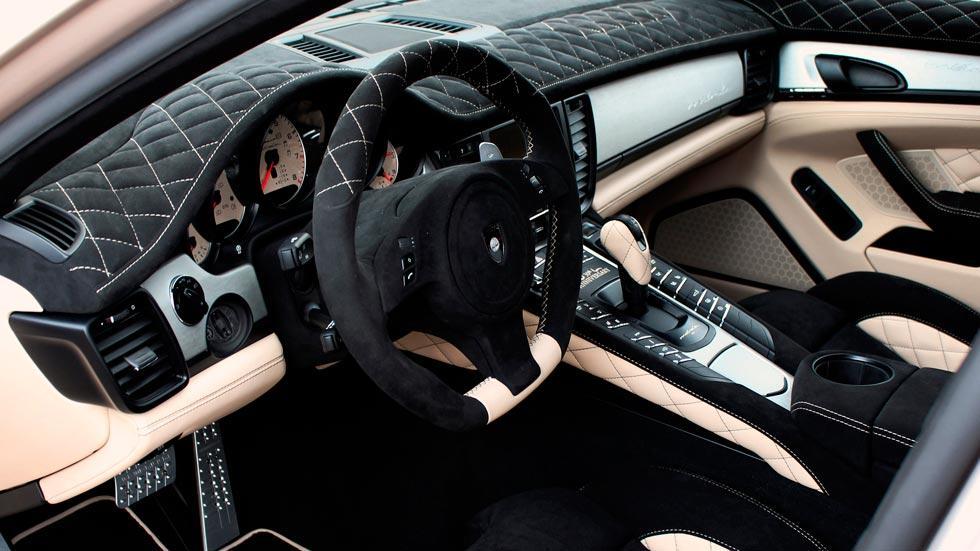 Porsche Panamera Gemballa Mistral preparacion interior