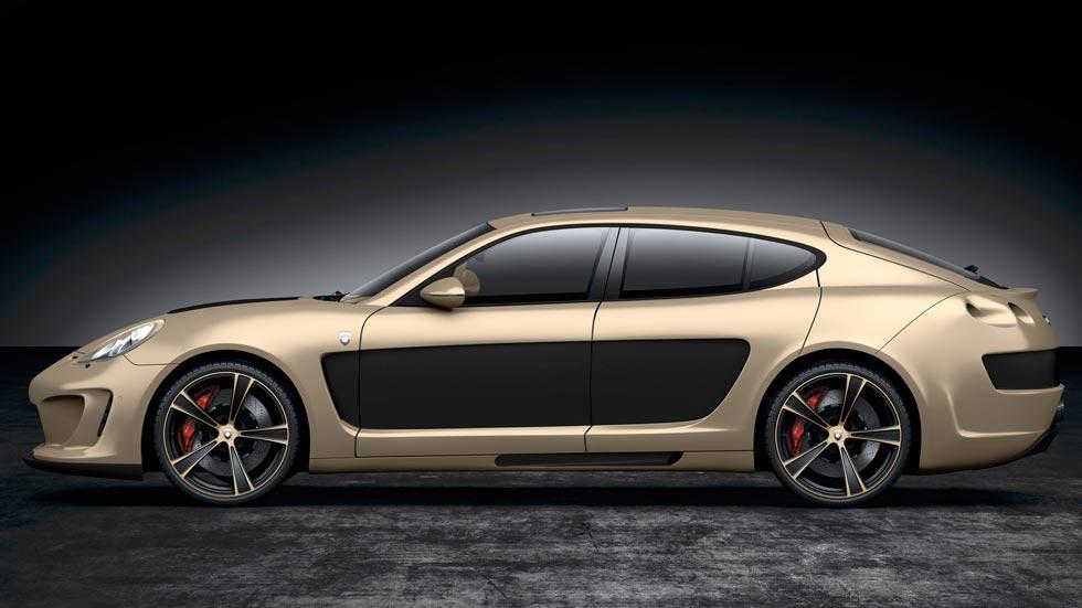 Porsche Panamera Gemballa Mistral lateral lujo