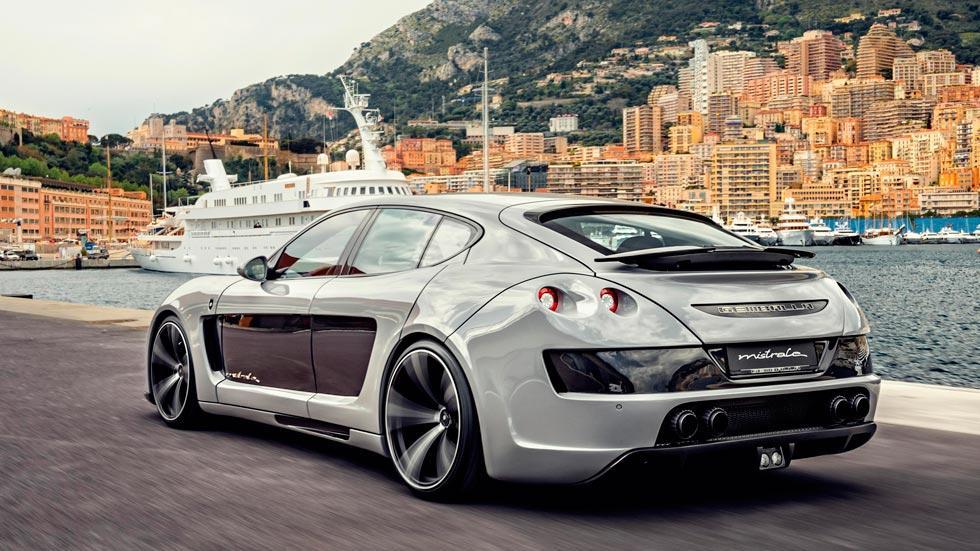 Porsche Panamera Gemballa Mistral trasera preparacion