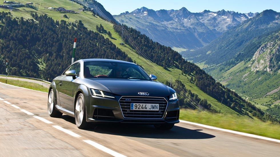 Prueba Audi TTS valle de aran pirineos deportivo montaña