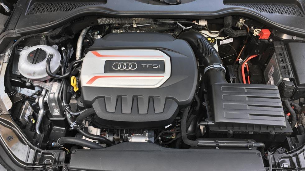 Prueba Audi TTS motor tfsi