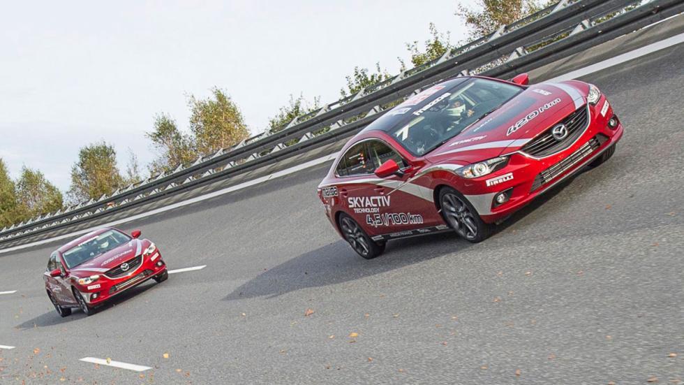 Récord motor Mazda6 diésel