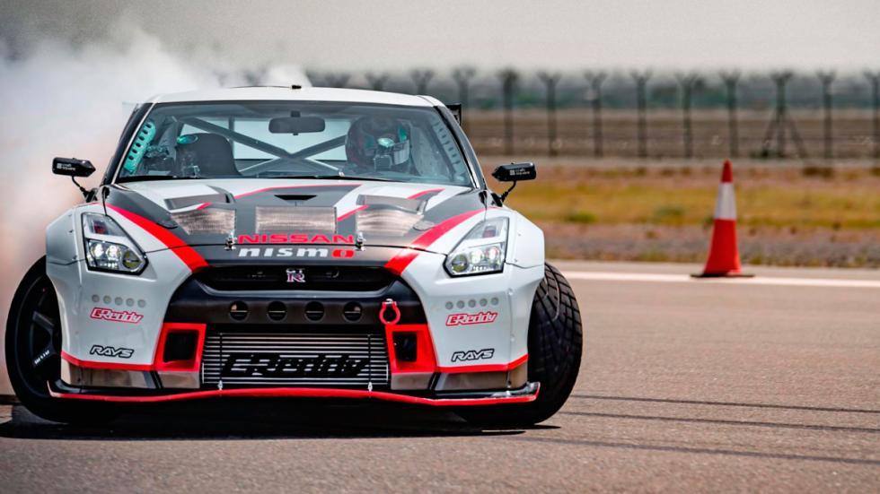 Récord motor Nissan GT-R drift velocidad