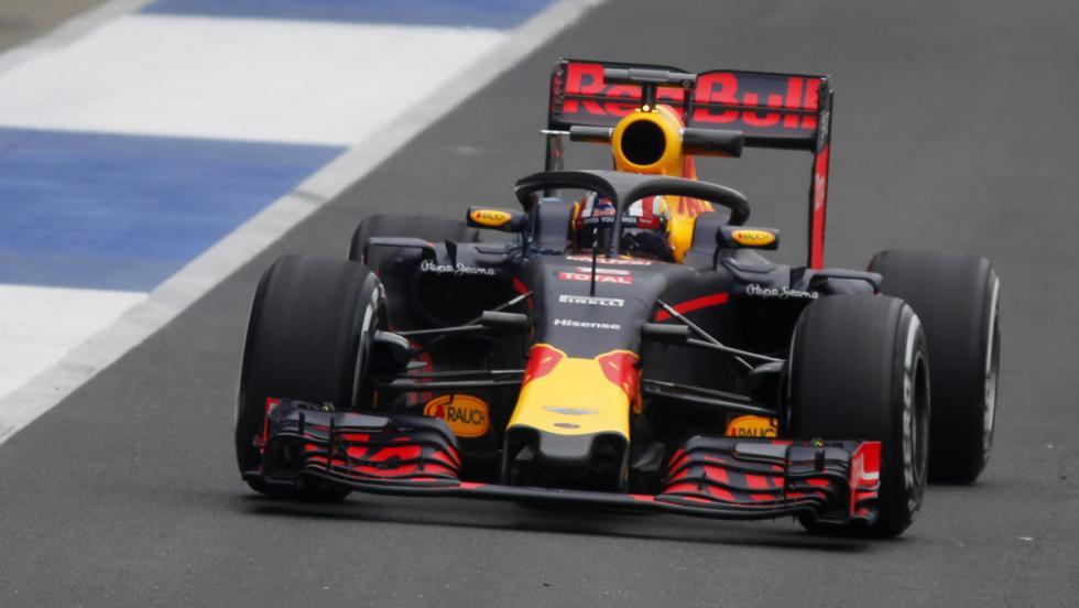 Red Bull ha probado el Halo en Silverstone