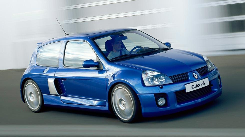Renault Clio V6 latearl